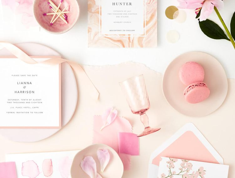 Papier BlushWeddingInvitations