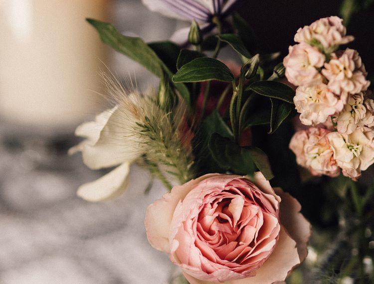 粉色玫瑰玫瑰婚礼的婚礼
