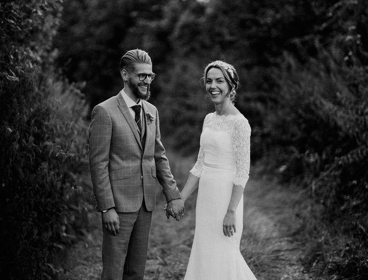 白色和新娘的照片和新郎的照片