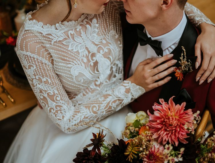 婚礼新娘和新郎婚礼