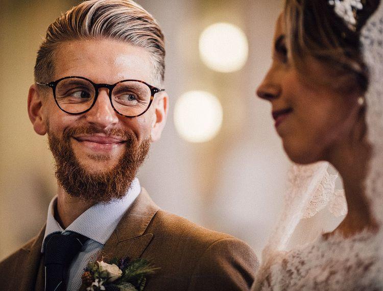 新郎和新郎婚礼上的婚礼上有一件事