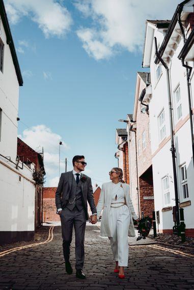 城市婚礼肖像摄影由Joanne Lawrence摄影188金宝博亚洲