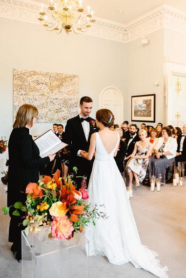 Civil wedding ceremony at Carlton House Terrace