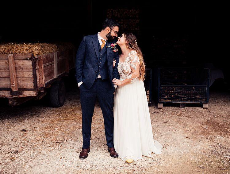 新郎和新娘婚礼