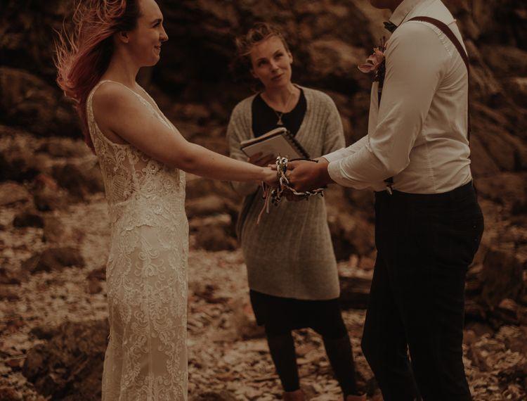 新郎和新郎的誓言和婚姻