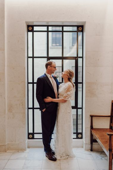 Town hall wedding in London