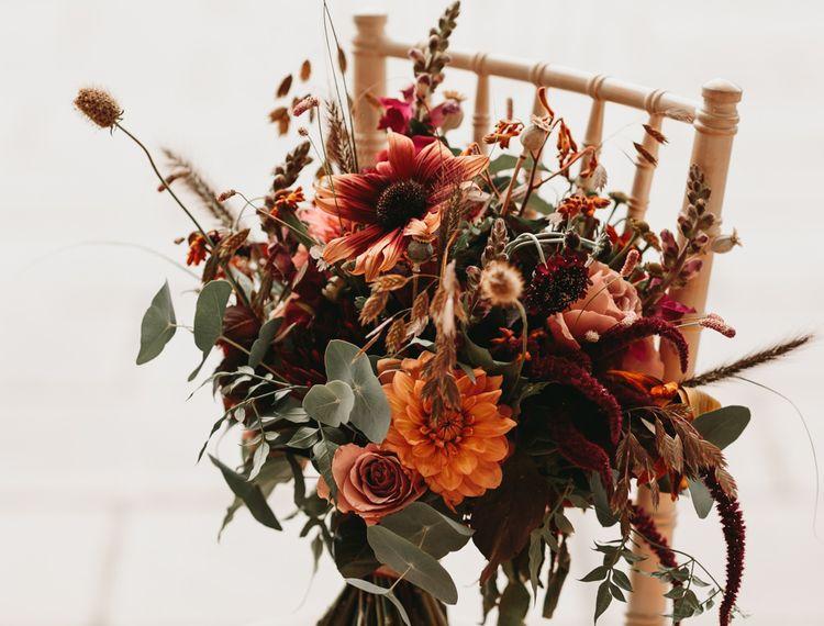 婚礼的婚礼和花束的花束