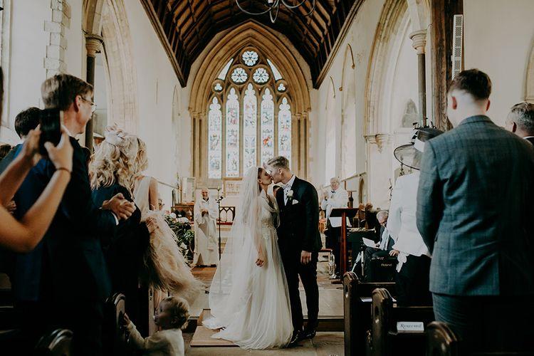 church wedding ceremony in Canterbury