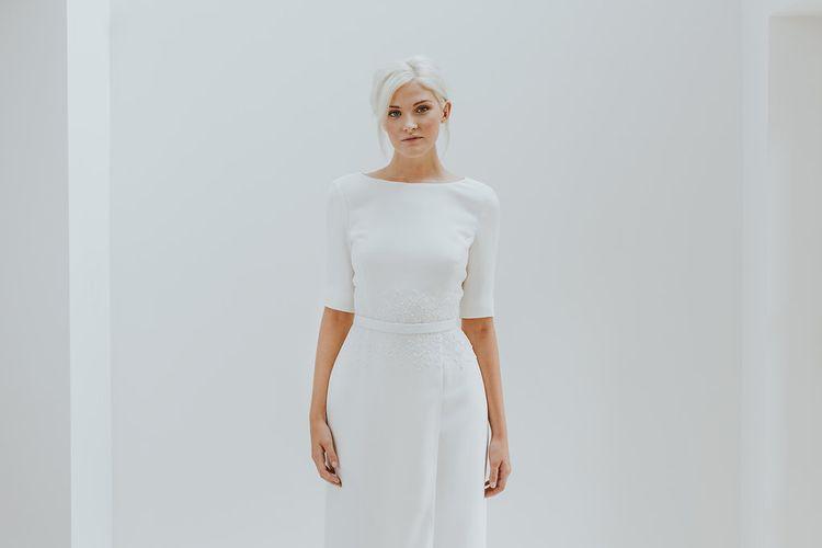 Elegant & Minimal Bridal Gowns by Charlotte Simpson