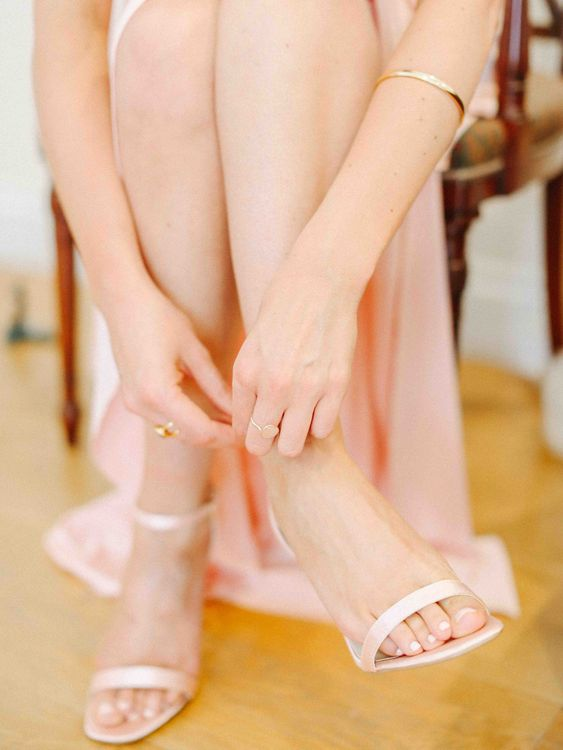 Bridesmaid Strappy Shoes