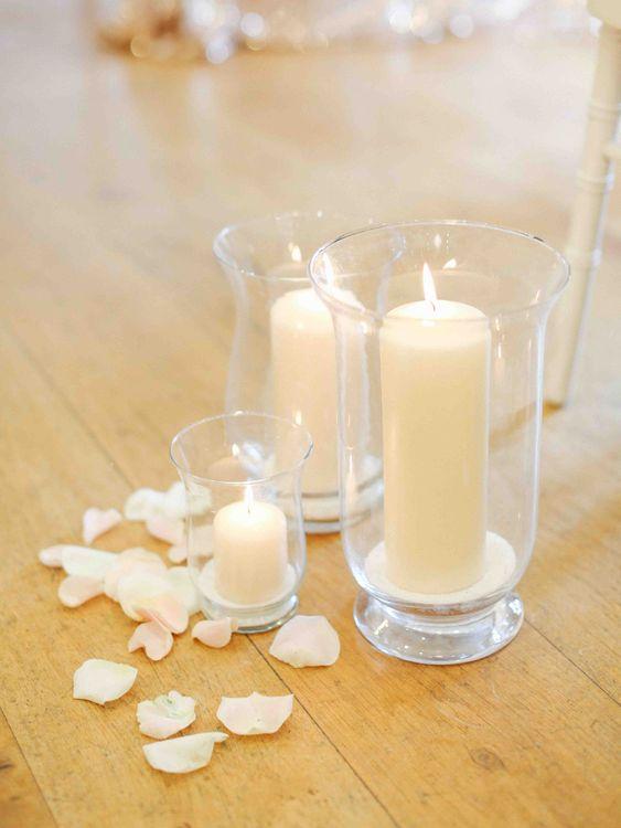 Hurricane Vases & Candles