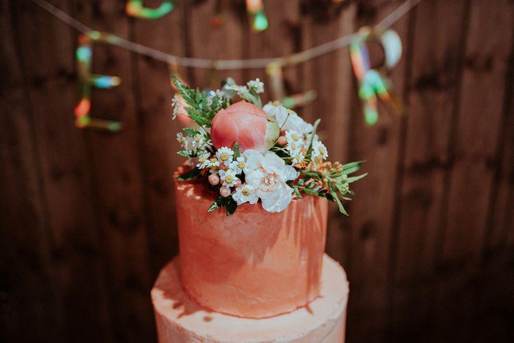 Wedding Cake Flower Topper