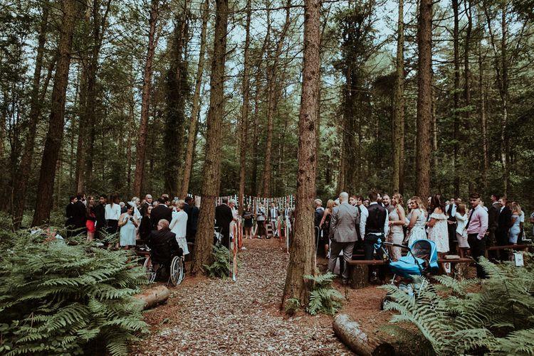 Woodland Outdoor Wedding