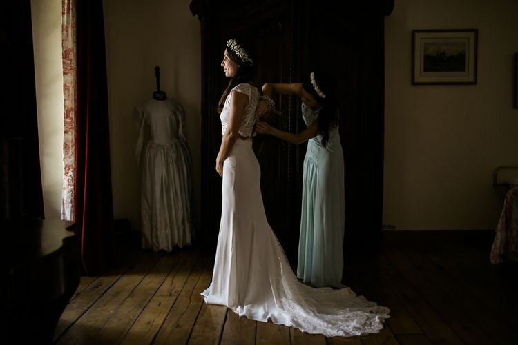 Bride in Rime Arodaky Separates