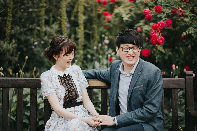 Hyde Park Couples Portrait