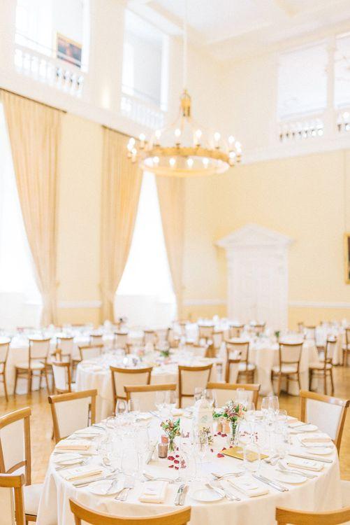Reception at Farnham Castle