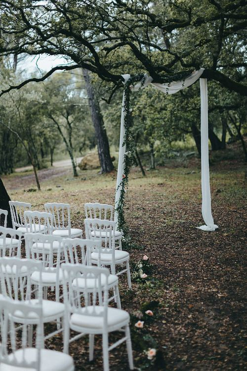 Outdoor Forest Ceremony