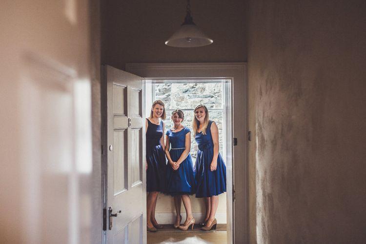 Bridesmaids in Lindy Bop Dresses
