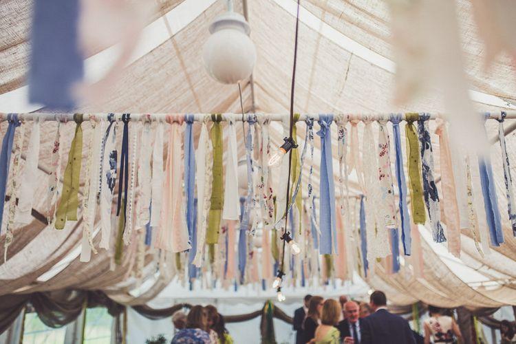 Hanging Ribbon Display
