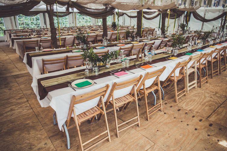 Reception Trestle Tables