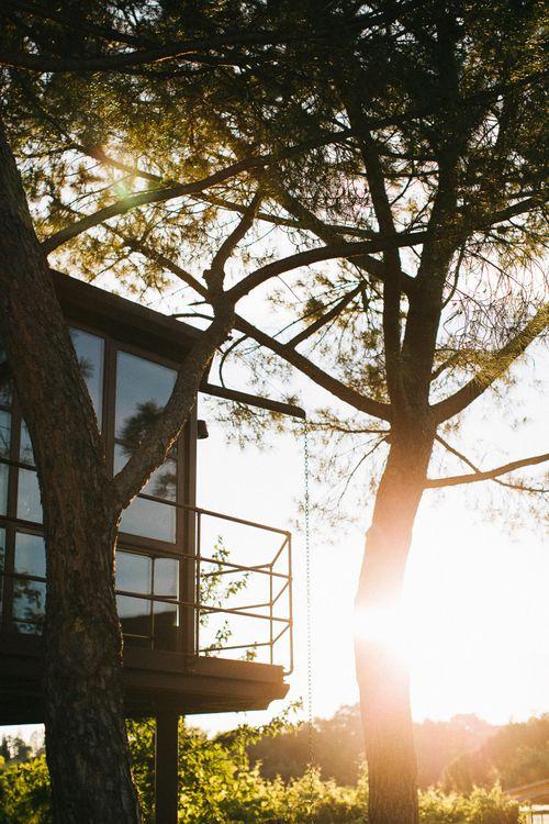 Tuscan Tree House found via Airbnb