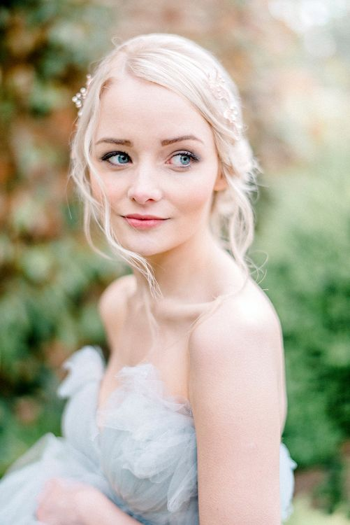 Flawless Bridal Makeup | Dreamy Bridal Inspiration at Great Lodge in Essex | Kathryn Hopkins Fine Art Photography