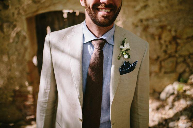 Stylish & Comfortable Groomswear For A Destination Wedding