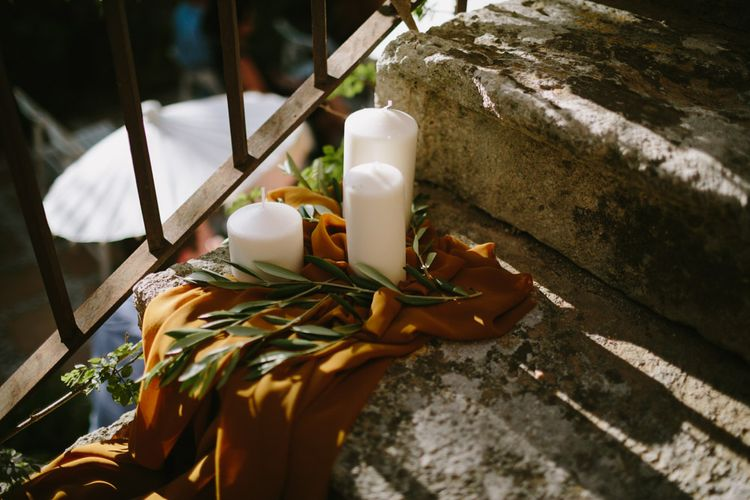 Mustard Yellow & Botanical Wedding Styling