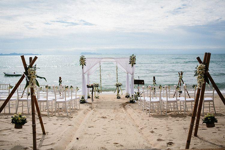 Beach Aisle & Altar