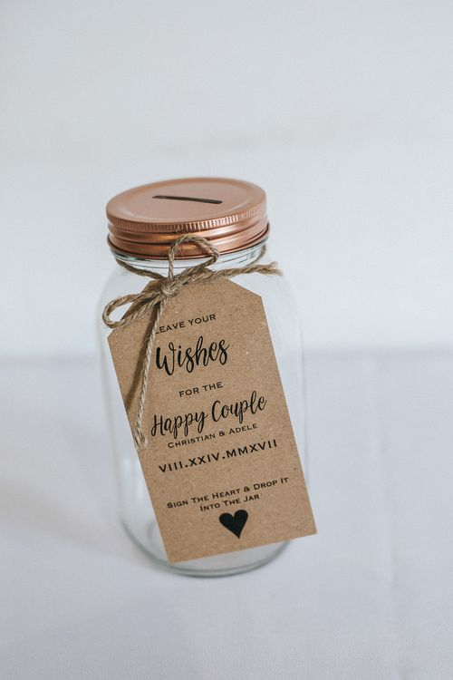 Wishing Jar | Rustic Wedding at Gate Street Barn, Surrey | Kirsty MacKenzie Photography