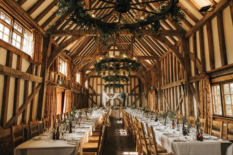 Rustic Barn Wedding Reception at Gate Street Barn, Surrey | Kirsty MacKenzie Photography