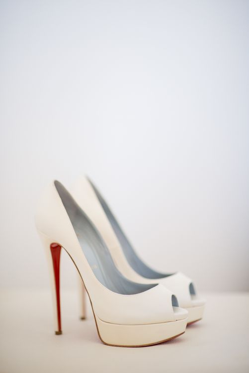 Christian Louboutin Platform Pumps | Outdoor Ibiza Destination Wedding | Gypsy Westwood Photography | Infin8 Film
