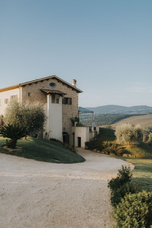 Italian Country House Wedding Venue