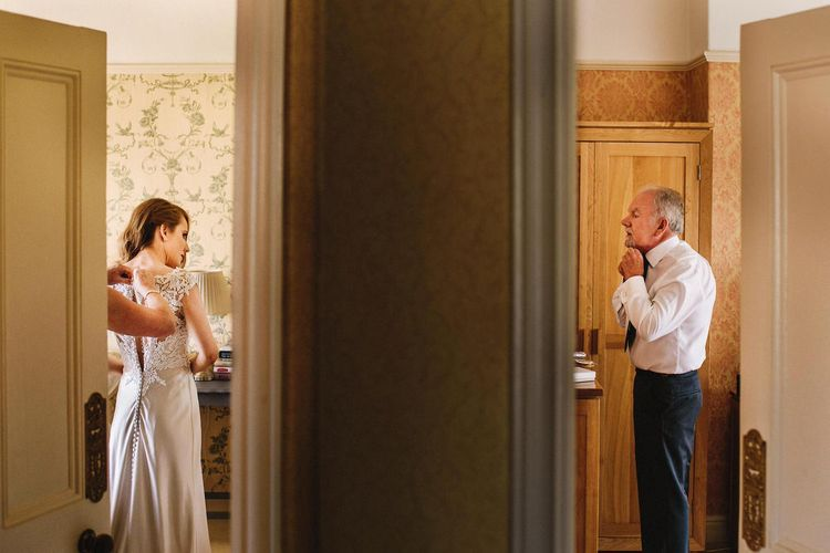 Bride & Father of The Bride Getting Ready | Andy Gaines Photography