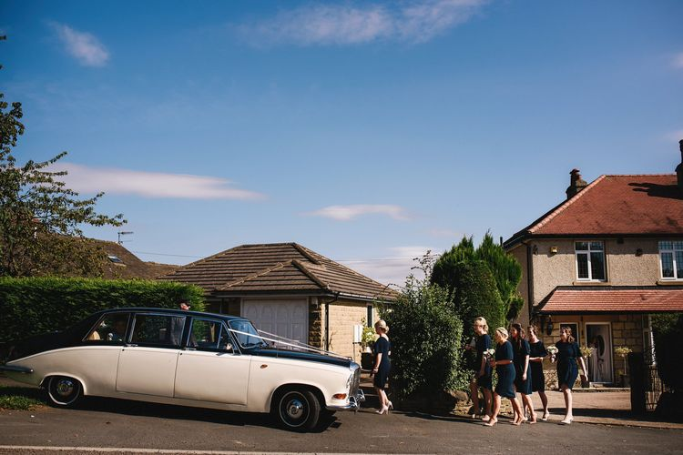 Vintage Wedding Car | Andy Gaines Photography