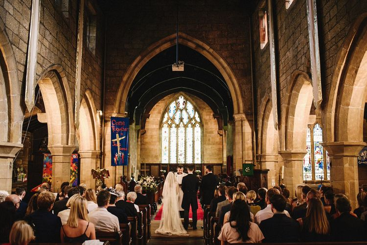 St Wilfrid's Church in Calverley Wedding Ceremony | Andy Gaines Photography