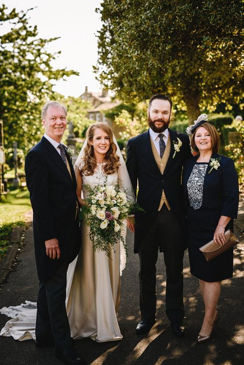 Mother & Father of the Groom Wedding Portrait | Andy Gaines Photography
