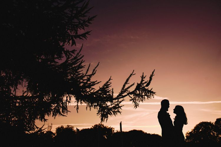 Dusk Wedding Portrait | Andy Gaines Photography
