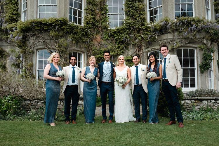 Wedding Party | English & Asian Wedding at Northbrook Park | Claudia Rose Carter