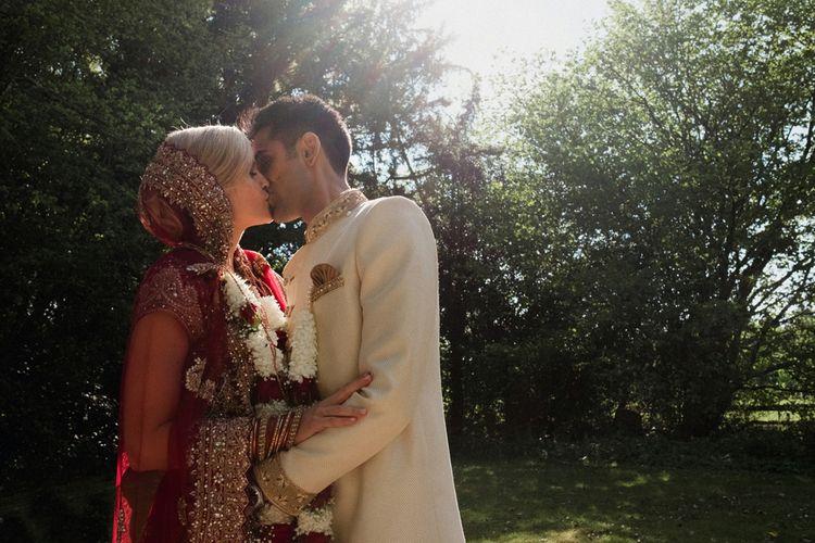 Sunset | English & Asian Wedding at Northbrook Park | Claudia Rose Carter