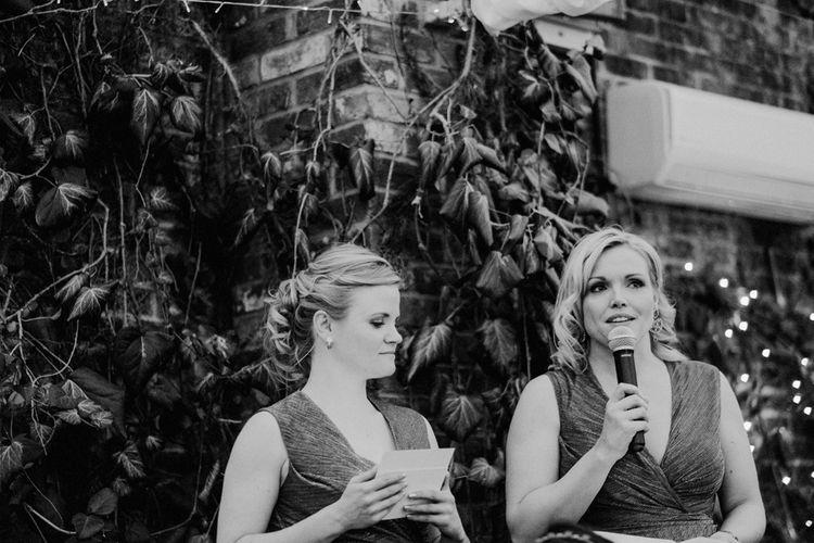 Bridesmaids | English & Asian Wedding at Northbrook Park | Claudia Rose Carter