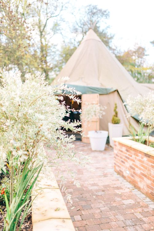 Tipi at Woodhill Hall