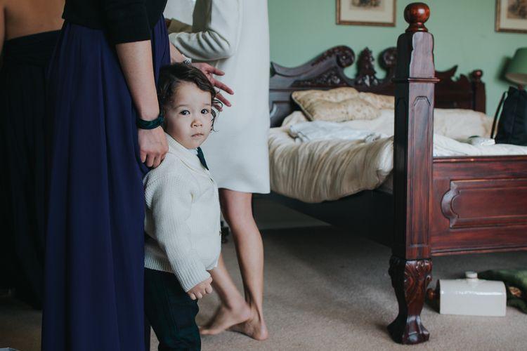 Page Boy | Errol Park Wedding Venue, Scotland | Jen Owens Images