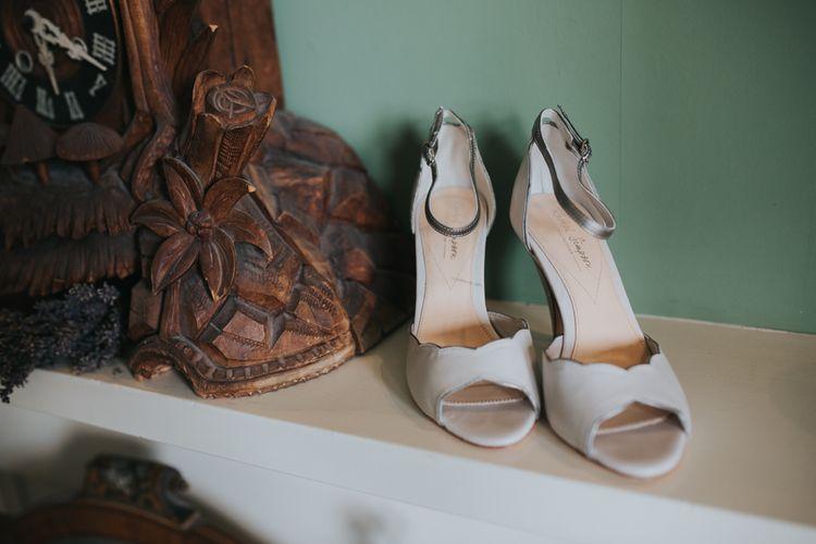 Rachel Simpson Shoes | Errol Park Wedding Venue, Scotland | Jen Owens Images