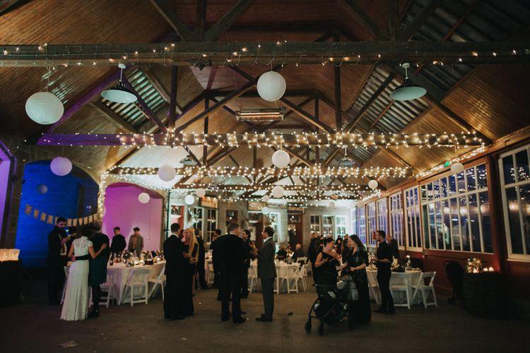 Fairy Lights | Errol Park Wedding | Jen Owens Images