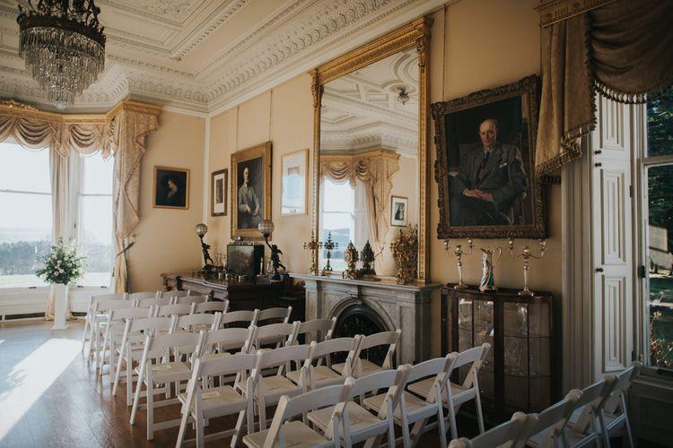 Wedding Ceremony | Errol Park Wedding Venue, Scotland | Jen Owens Images