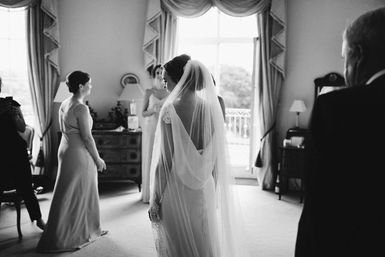 Bridal Preparations | Rose & Delilah Gown | David Jenkins Photography | Confetti & Silk Films