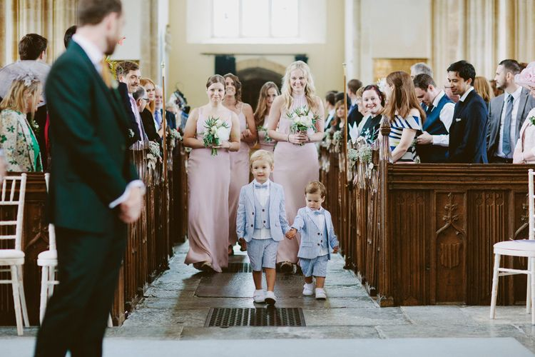 Bridal Party Entrance | David Jenkins Photography | Confetti & Silk Films