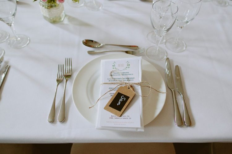Place Setting | David Jenkins Photography | Confetti & Silk Films
