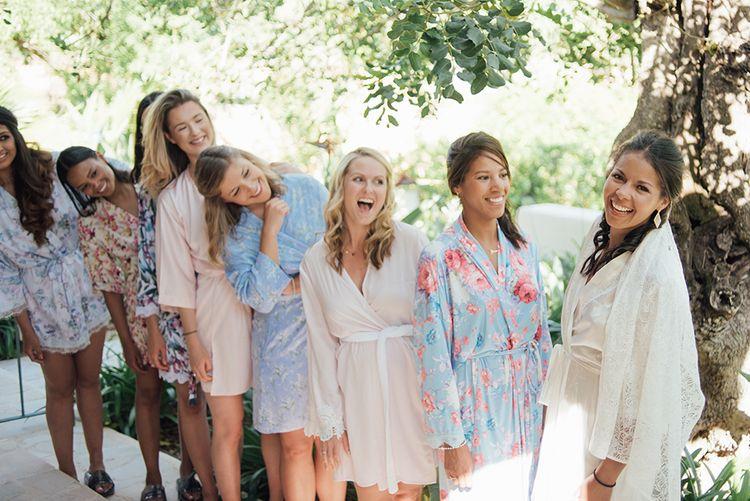 Gifting for bridesmaids | Ibiza Wedding | Liberty Pearl Photography